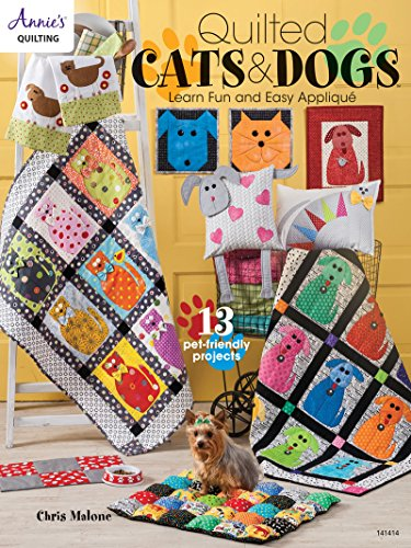 Quilted Cats & Dogs (Annie