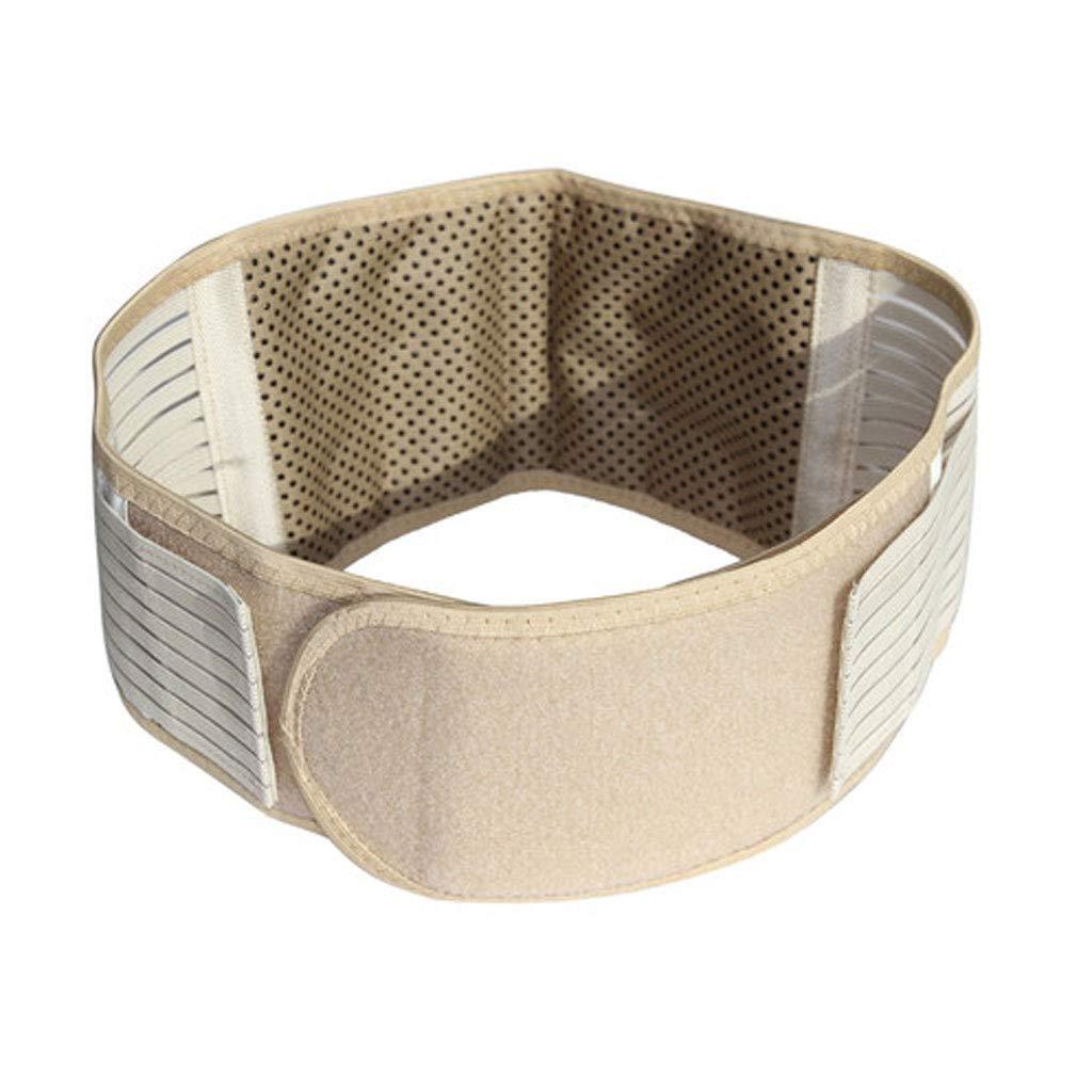 WYNZYHY Waist Plate Waist, Lumbar Intervertebral Disc Warm Heating Waist Waist Support Male and Female Waist (Size : S)
