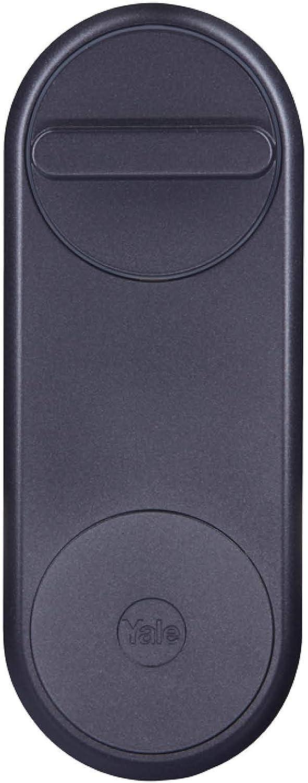 Yale 05/101200/MB Linus Smart Lock Cerradura inteligente motorizada, Negro Mate