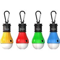 Vdealen Unisex LED Tält Lykta Lampa Nödsituation Ljus Batteridriven