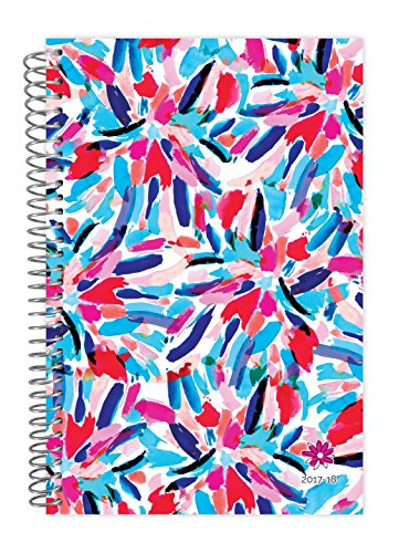 "bloom daily planners 2017-18 Academic Year Daily Planner - Passion/Goal Organizer - Monthly and Weekly Datebook and Calendar - August 2017 - July 2018 - 6"" x 8.25"" - Fireworks"