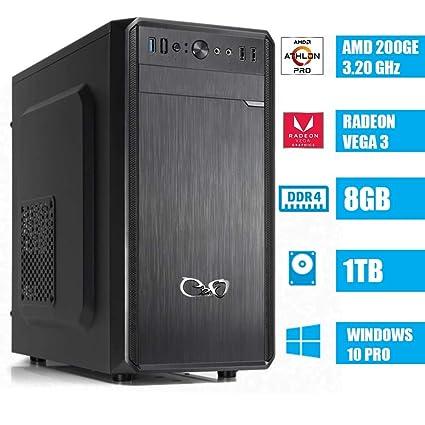 CeO Alpha V1 - Ordenador de Sombremesa AMD 200GE 3.20GHz 4MB ...