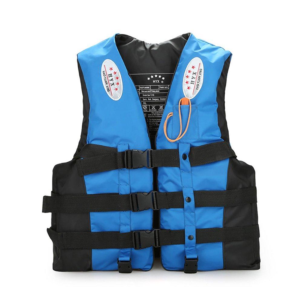 【まとめ買い】 Life B07F739HS1 Vest、ライフジャケット X-Large レディース ユニセックス メンズ 反射テープ&ホイッスル付き ウォータースポーツ 水泳補助 ユニセックス 大人 子供 PDF X-Large ブルー B07F739HS1, セキチュー:4e44995d --- a0267596.xsph.ru