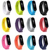 Tkasing mi Band 4 Strap,Band for Xiaomi 3/Xiaomi 4 Smartwatch Wristbands Replacement Accessories Straps Bracelets for Mi…