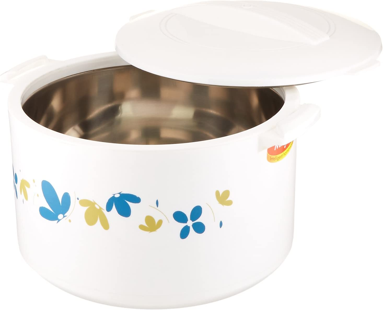 Milton Treat 10 L Insulated Hot Pot Keep Warm/Cold Thermo Casserole, Small, White