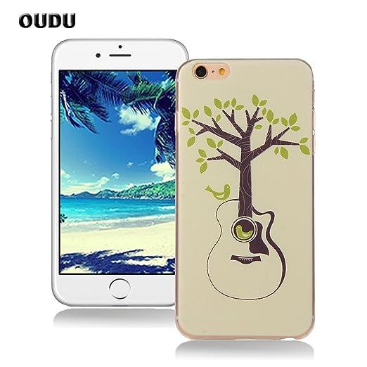 35 opinioni per OuDu Cover iPhone 6/6S (4.7 pollici) Custodia TPU Silicone Cassa Gomma Soft