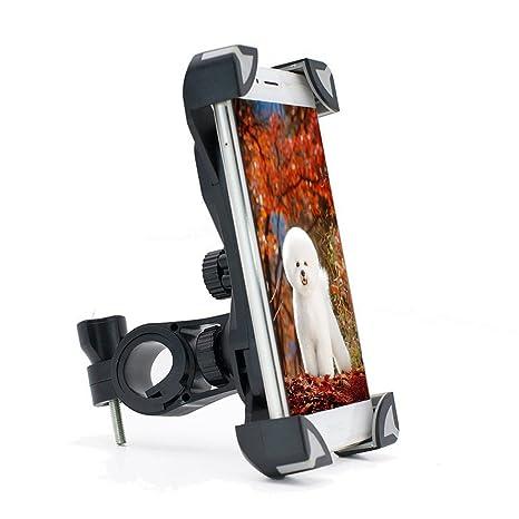 Soporte de teléfono para bicicleta, soporte universal para teléfono móvil, para bicicleta o motocicleta, ...
