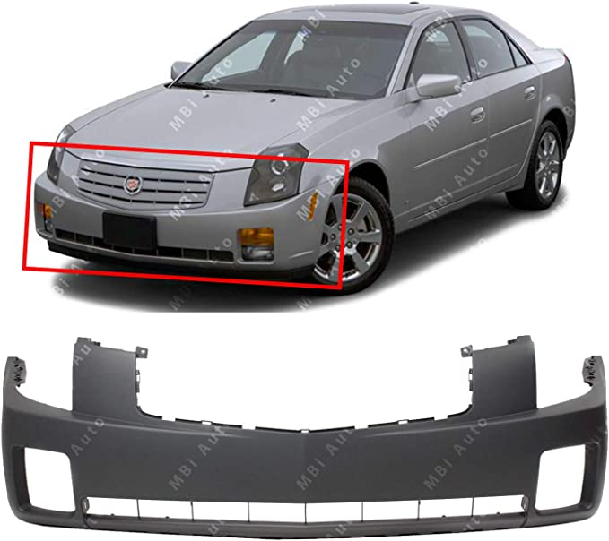 NEW 2003 2004 2005 2006 2007 Cadillac CTS Front Bumper COVER Painted GM1000656