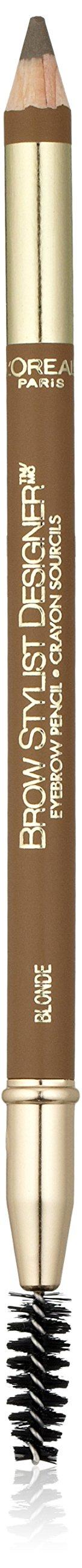 L'Oreal Paris Makeup Brow Stylist Designer Eyebrow Pencil, Blonde (Packaging May Vary)