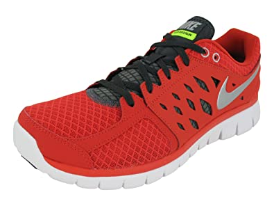 4190ed766e65 Nike Men s Flex 2013 RN Running Shoe Pimento Anthracite Volt Silver Size 9