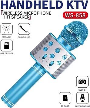 Wiwi Super Geschenk Drahtloses Karaoke Bluetooth Mikrofon Für Kinder