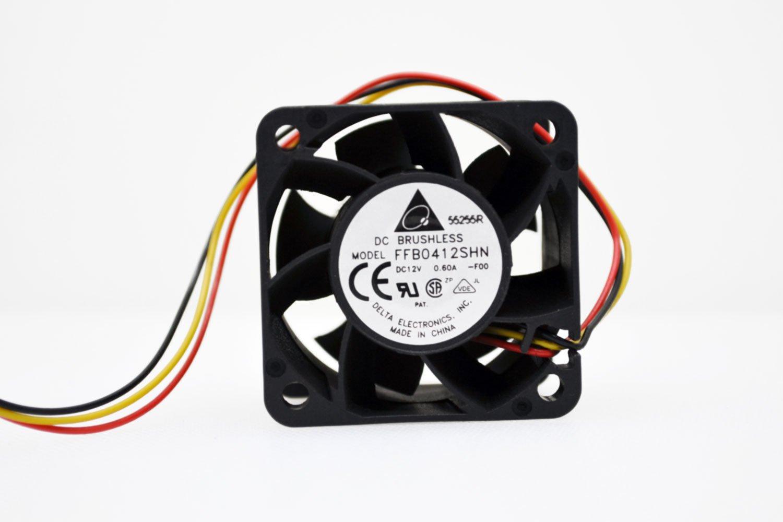 Delta FFB0412SHN 40mm x 28mm Extreme Speed Ball Bearing Fan FFB0412SHN-FOO
