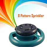 8 Pattern Garden Sprinkler - Lawn Spray Nozzle