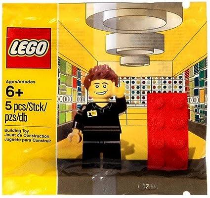 Amazon.com: Lego Shop Employee MiniFigure Set 5001622: Toys & Games