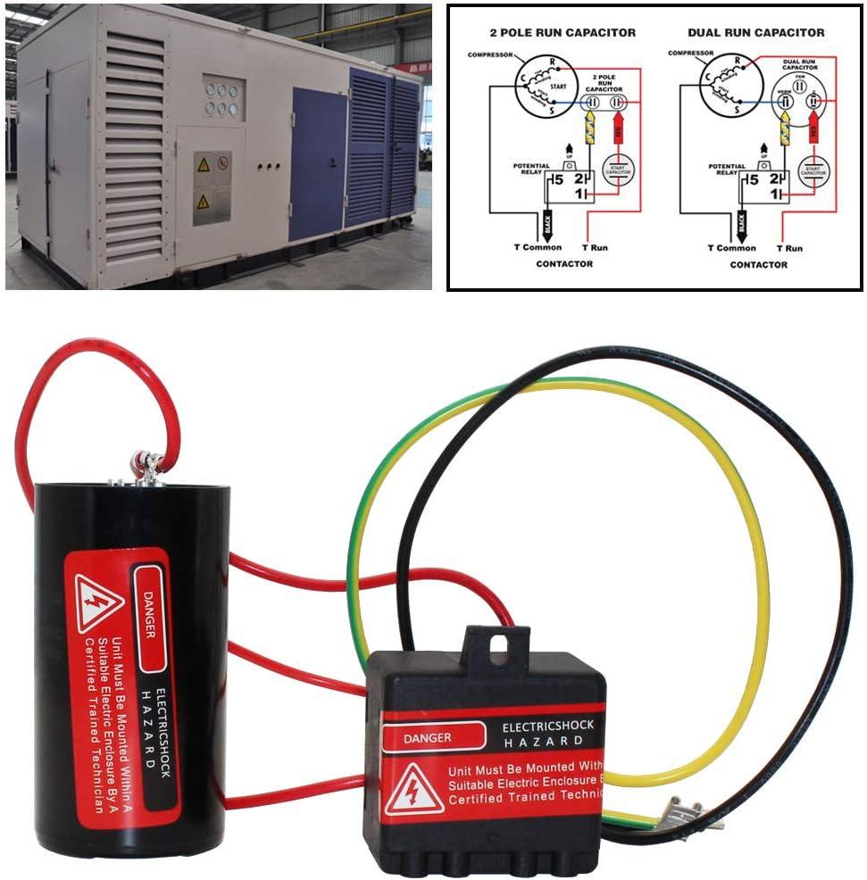 5-2-1 Compressor Saver CSR U1 Hard Start Capacitor 1-2-3 tons CSRU1
