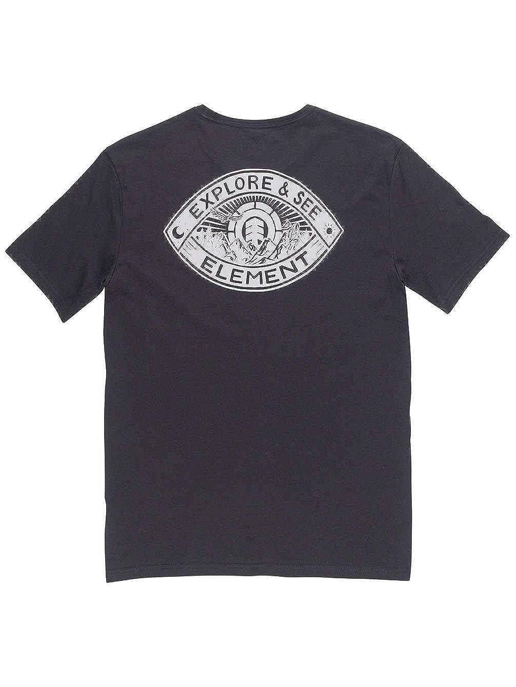 TALLA S. Element Timber Eye Hombre Camiseta T-Shirt