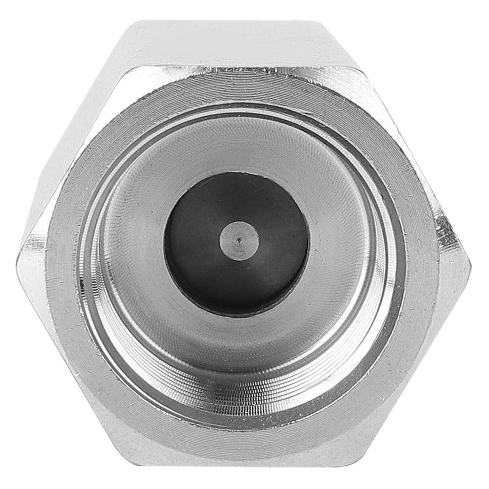 304 Stainless Steel Internal Thread Check Valve 4 Styles Hex Check Valve for Distillation for Construction Electrical appliances 1//8