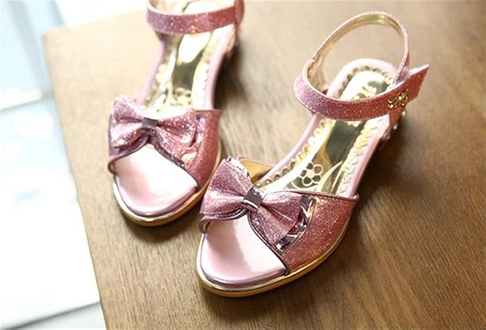 coollight Little Girls Youth Sandal Princess Crystal Sandals Fashion Summer Shoes