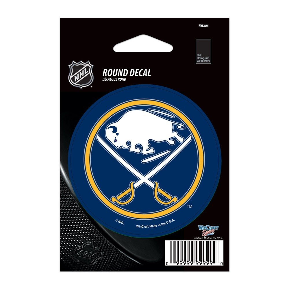 3 x 3 WinCraft NHL Buffalo Sabres WCR66241010 Round Vinyl Decal