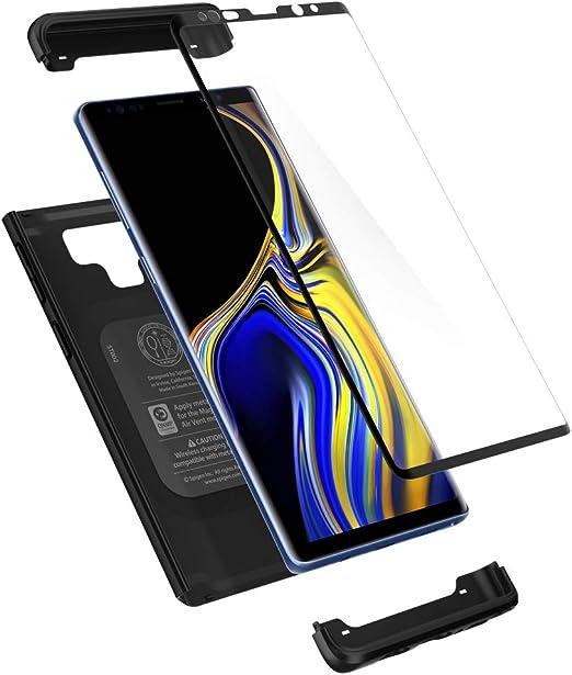 Spigen Funda Thin Fit 360 Compatible con Samsung Galaxy Note 9 ...