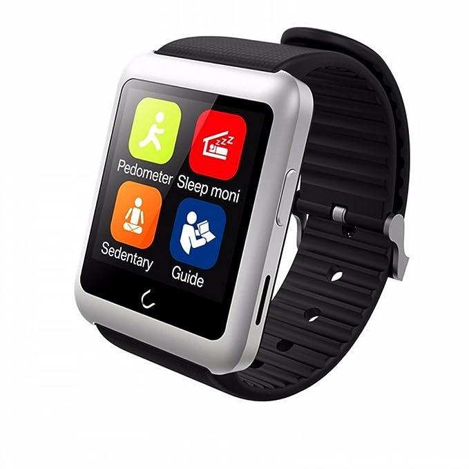 uwatch tarjeta SIM u11 Bluetooth SmartWatch Teléfono Monitor ...
