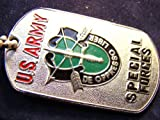 US SPECIAL FORCES GREEN BERETS MILITARY DOG TAG PENDANT