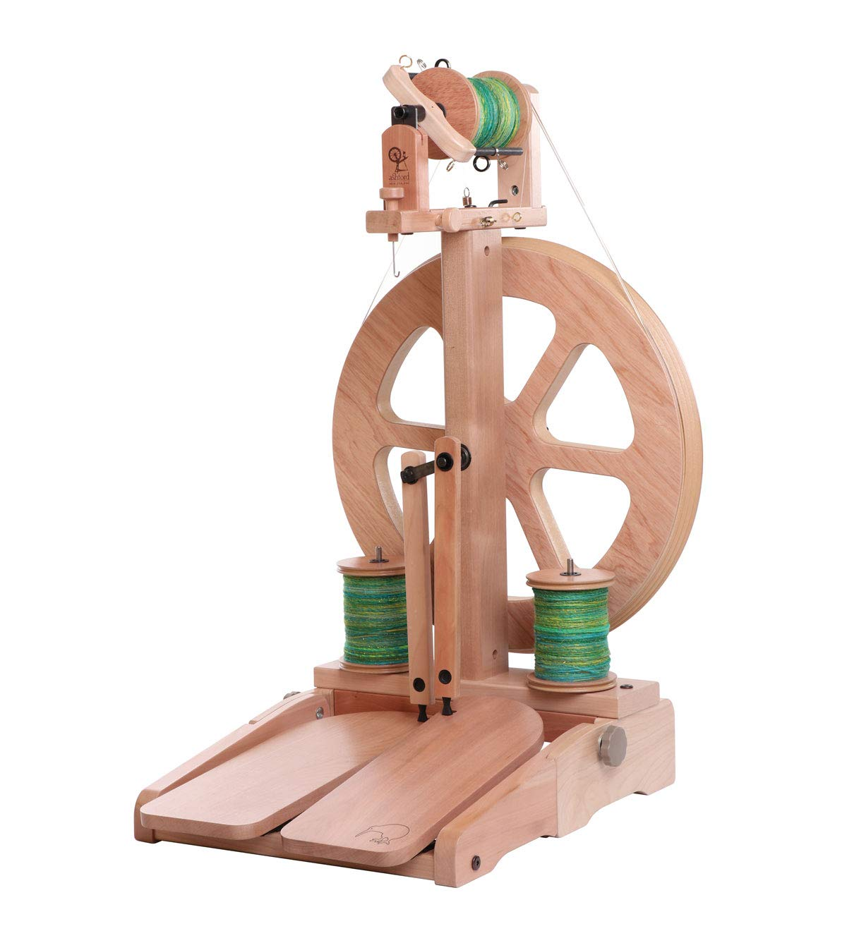 Ashford Kiwi Spinning Wheel 3 Unfinished Ashford Handicrafts