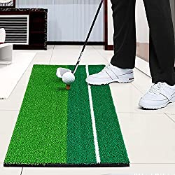 "Amzdeal Golf Hitting Mat 12""x24"" Golf Mat For Outdoor Indoor Golf Practice Training"