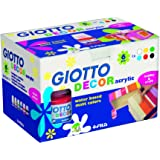 Giotto 538200 - 6 Flaconi Decor Acrylic 25 ml
