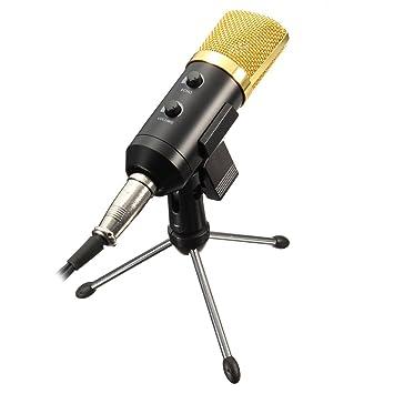 micrófono de grabación Micrófono de condensador estudio en casa, para Skype, MSN, Yahoo