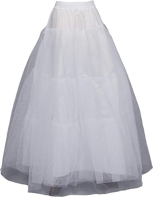 Vestidos De Novia Falda Con Volantes Falda Enagua Vestido Mode De ...