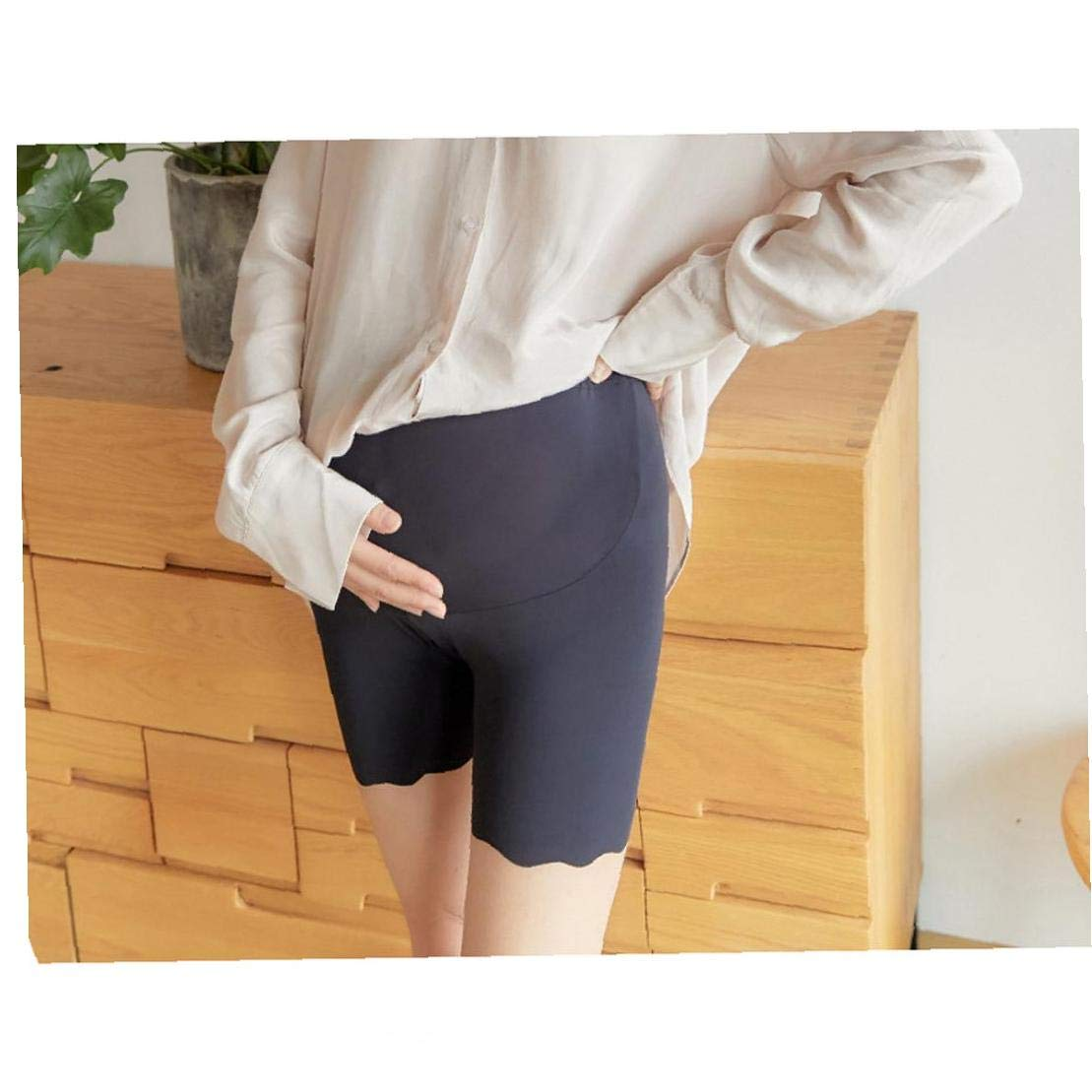 Pregnant Womens Plus Size Modal Cotton Short Leggings Pants Lightweight Breathable Mid Thigh Stretchy Shorts