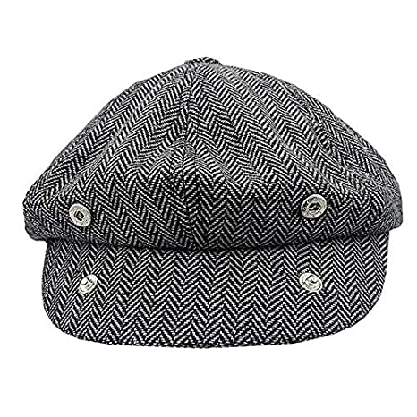 Mens Classic Newsboy Cap Winter Outdoor Warm Eight Piece Cap Gatsby Cap