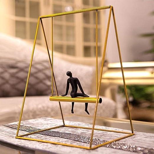 XWYDX Adornos artesanales Escalera casera Creativa Moderna Simple en los Ornamentos de los pensadores Ornamentos (Color : 8#): Amazon.es: Hogar