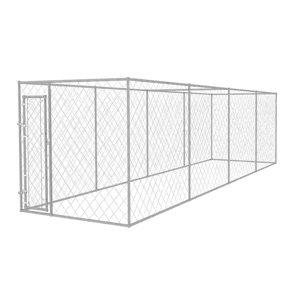 Xinglieu Outdoor Canal 8 x 2 m Dog Fence