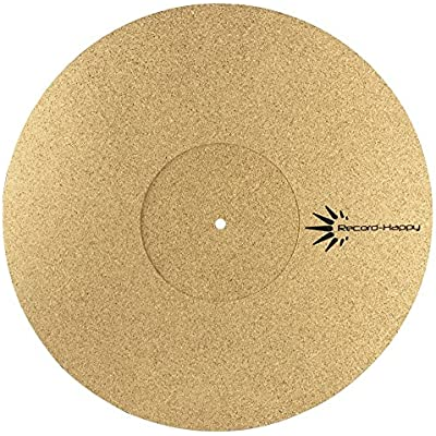 turntable-slipmat-anti-static-cork