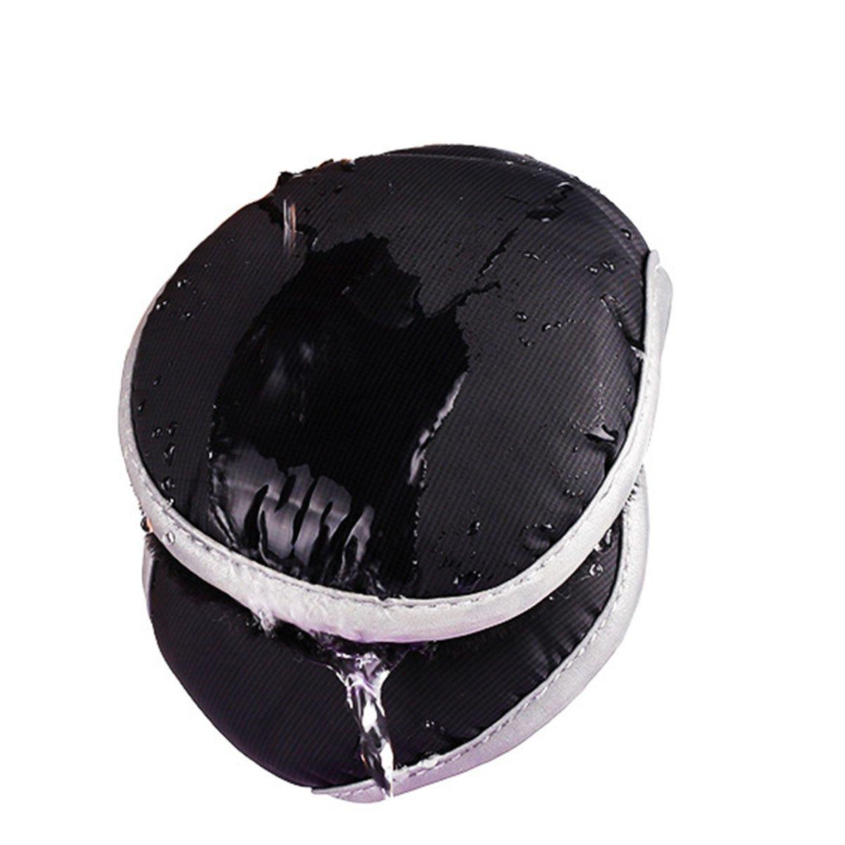 Unisex impermeabile paraorecchie pieghevole Tukistore inverno caldo regolabile Earhook paraorecchie accessori invernali allaperto per le signore e gli uomini