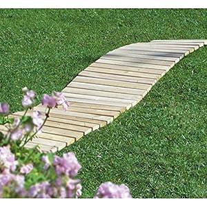 Amazon Com Cedar Garden Walkway Outdoor Decorative Fences