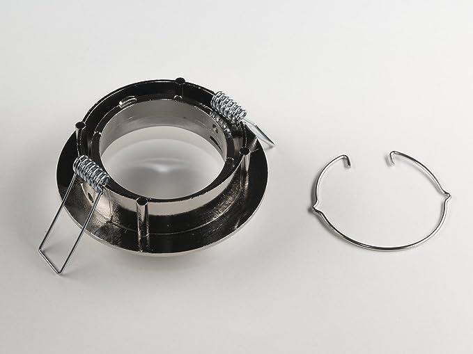 12 V foco empotrable de foco empotrable | Foco | Celia - Lámpara LED, 5 W, diámetro 82 mm, incluye bombilla COB LED de: Amazon.es: Iluminación