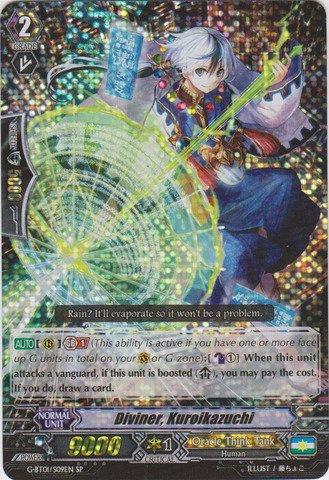 Cardfight!! Vanguard TCG - Diviner, Kuroikazuchi (G-BT01/S09EN) - G Booster Set 1: Generation Stride