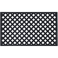 Achim Home Furnishings WRM1830LT6 Lattice Rubber Mat, 18 x 30