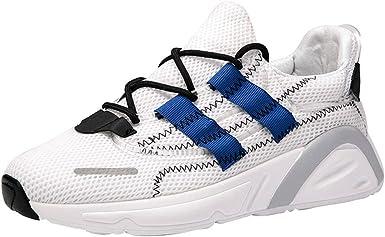 Hombres y mujeres zapatos casuales,ZARLLE Modelos de pareja zapatos deportivos,Transpirable Zapatos de malla,Antideslizante zapatos para correr,Zapatos de cordones para mujer: Amazon.es: Ropa y accesorios