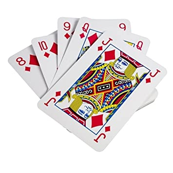 Kartenspiel Riesen Spielkarten Karten 37 x 26 cm Skat Romme
