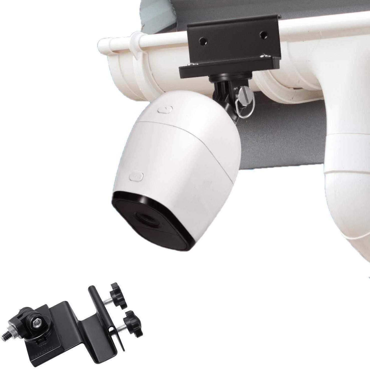 Weatherproof Gutter Mount Compatible with Arlo Pro//Pro 2 Arlo Go Arlo HD//Ultra
