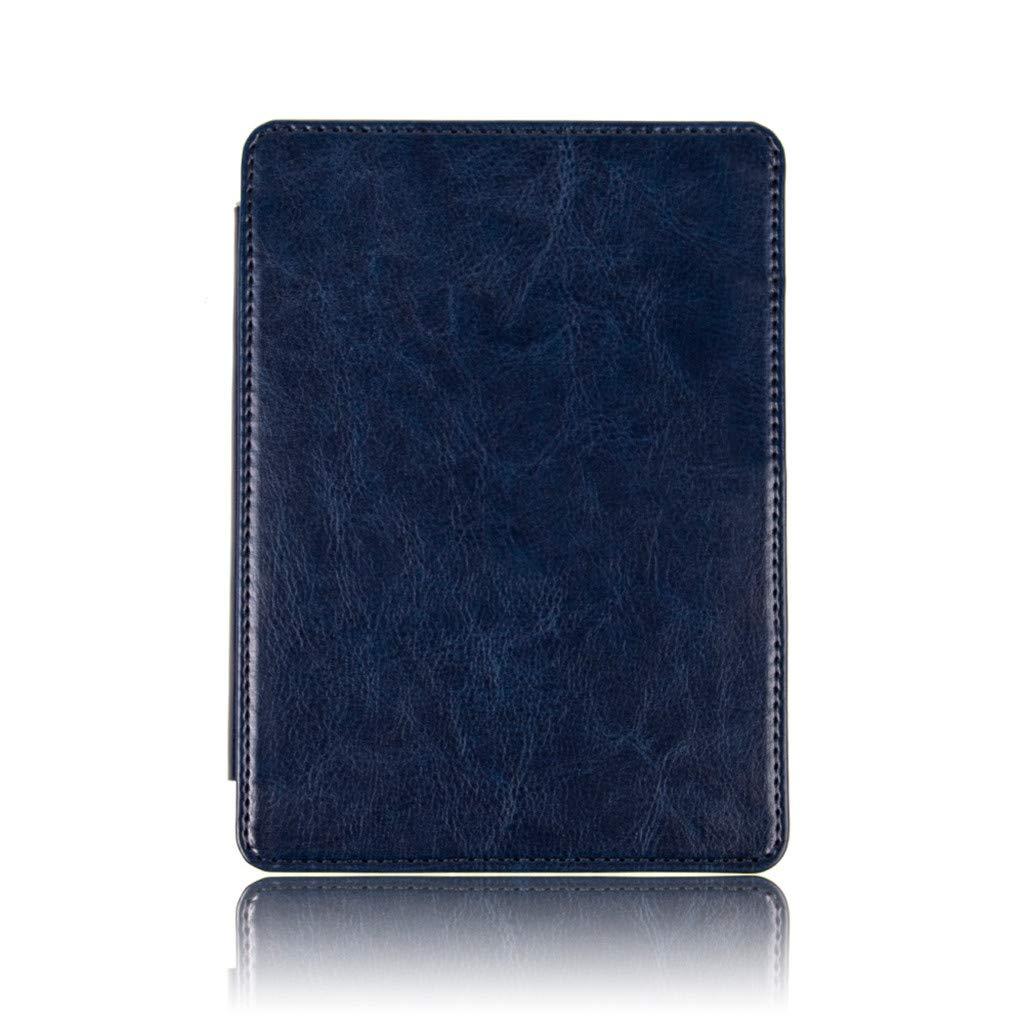 Tablet Case Cover pour  Kindle Paperwhite 4 2018 Fulltime/® Ultra Mince Intelligente PU En Cuir Magn/étique Cas Couverture Bleu ciel