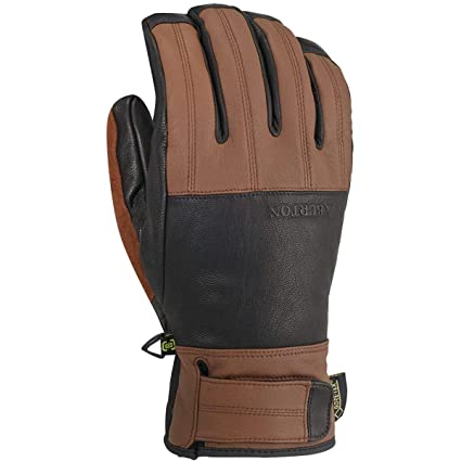 1a0dcfa1951 Amazon.com  Burton Gondy Gore-Tex Leather Glove  Sports   Outdoors
