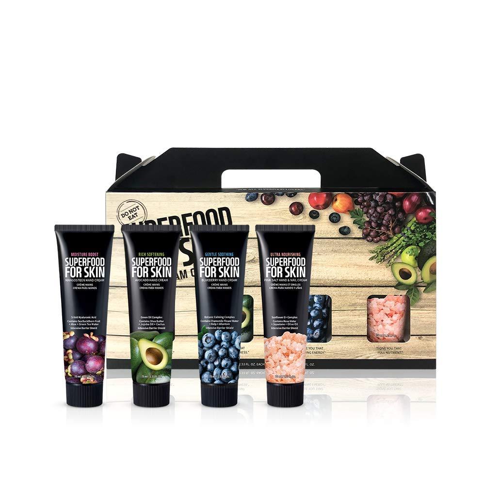 FARMSKIN Super Food For Skin Hand Cream Gift Set (Pack of 4)
