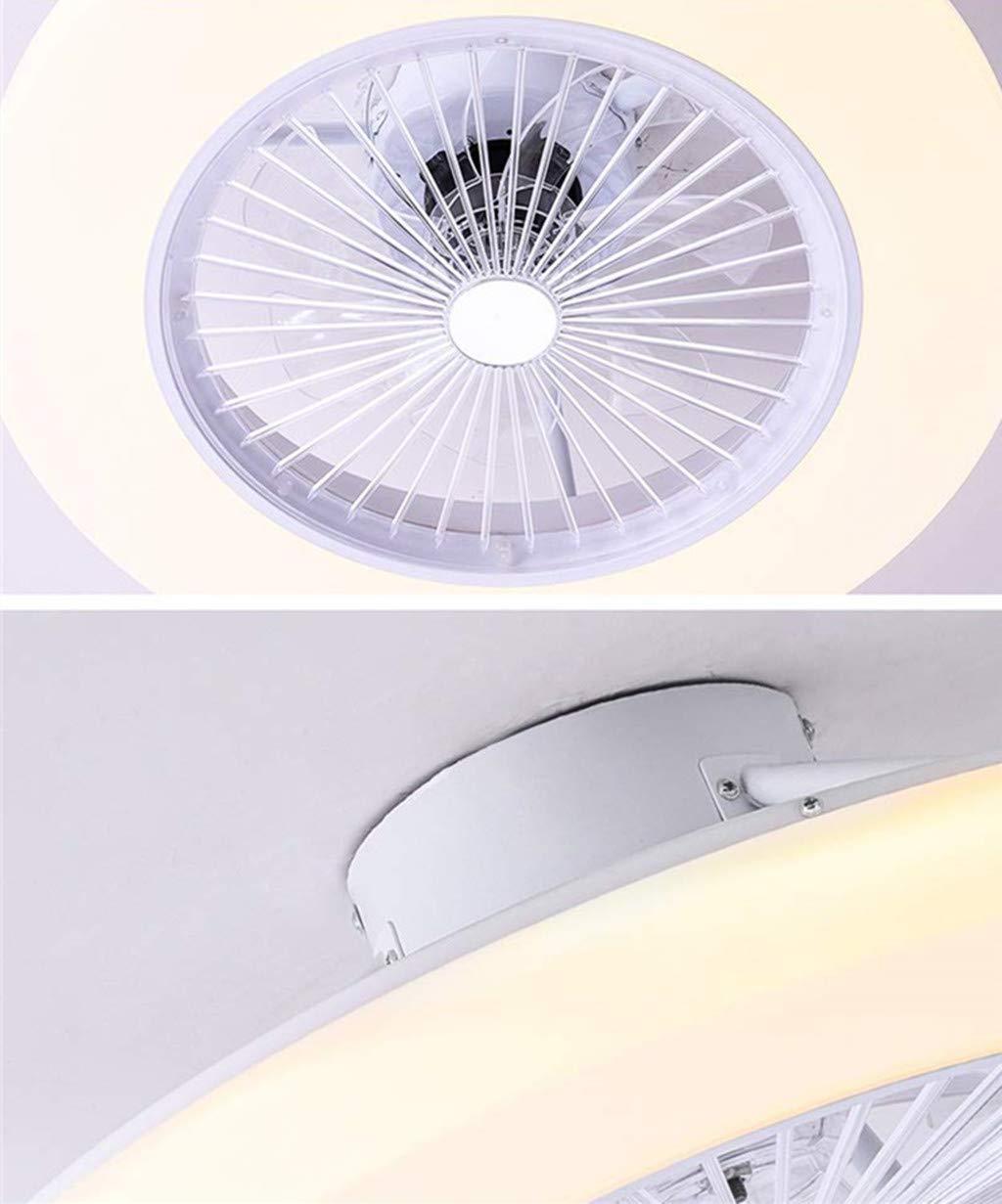 Telecomando Dimmerabile SLZ Ventilatore da Soffitto HGW con Ventilatore da Soffitto Soffitto di Illuminazione con Luci A LED Plafoniera LED 36W Moderna velocit/à Regolabile Colore Opzionale,Pink
