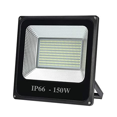 Wlnnes Proyector LED 150W, me impermeable al aire libre IP66 ...
