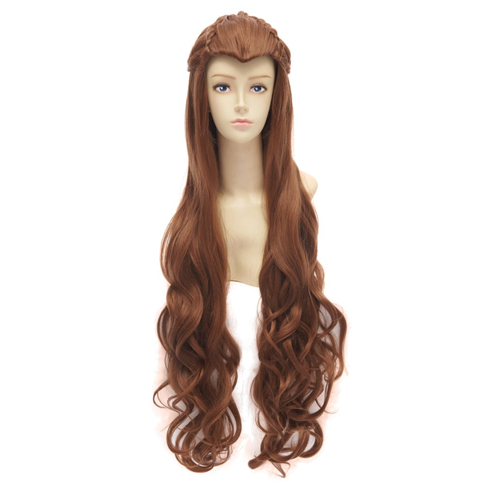 Amazon.com The Hobbit / the Lord of the Rings Film Mirkwood Elf Cosplay Costume Wig Beauty  sc 1 st  Amazon.com & Amazon.com: The Hobbit / the Lord of the Rings Film Mirkwood Elf ...